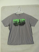 "S4423 American Apparel Men's XL Gray ""Young Life Verdugo Hills"" Graphic T-Shirt"