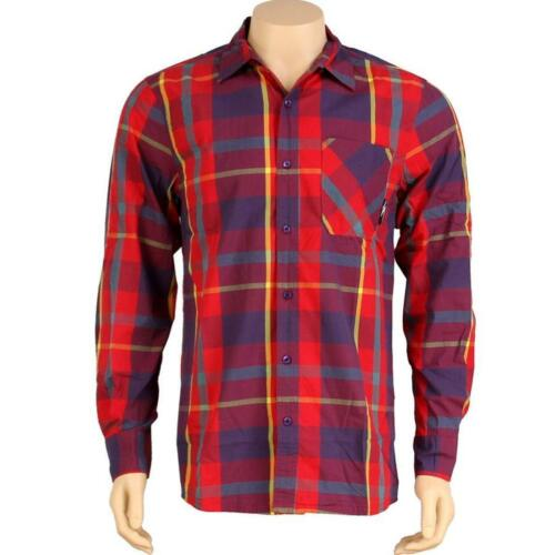 THSP1128019RED red $67.99 The Hundreds Petrol Long Sleeve Shirt