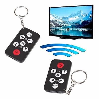 Mini telecomando TV universale portachiavi televisore IR infrarosso 7 tasti