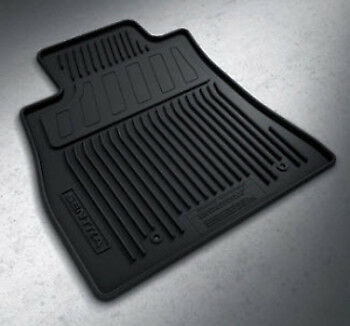 OEM NEW Front /& Rear All Weather Rubber Floor Mat Set 14-19 Sentra 999E1-L2000