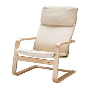 Ikea Poltrone Reclinabili.Dettagli Su Ikea Sedia A Dondolo Pello Poltrona Reclinabile Sedia Cantilever Nuovo