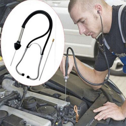 Black Auto Mechanics Stethoscope Car Engine Diagnostic Automotive Hear Tools