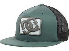 DC Shoes Passport Mesh Trucker Hat Cap Green Black Snapback