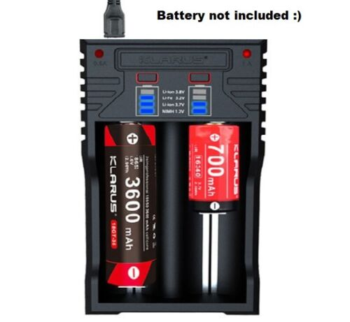 K2 USB 4LED Display Li-ion//Ni-MH//Ni-Cd LiFePO4 Battery Smart Charger