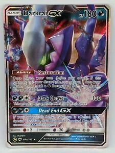 Mint NM Ultra Rare Holo Pokemon TCG Card Darkrai GX 88a//147
