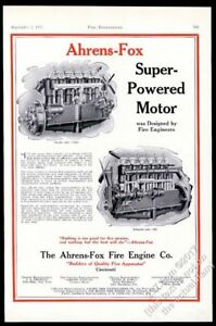 1928-Ahrens-Fox-fire-truck-engine-diagram-vintage-trade-print-ad
