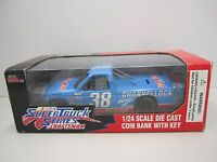 1995 Super Truck Series 1/24 Scale Die Cast Coin Bank 38 Sammy Swindell
