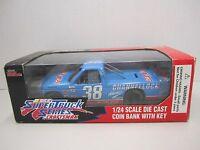 1995 Super Truck Series 1/24 Scale Die Cast Coin Bank 38 Sammy Swindell