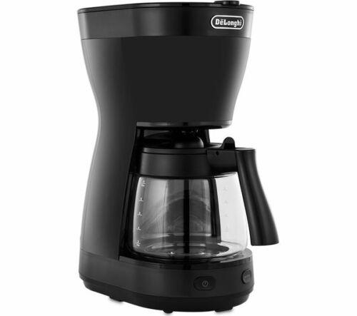 DE /'Longhi ICM16210.BK NUOVO CLESSIDRA 1000W 1.2L Filtro MacChina Da Caffè Maker