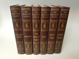 The-Children-039-s-Classics-1920-039-s-Books-Lot-of-6-John-C-Winston-Co