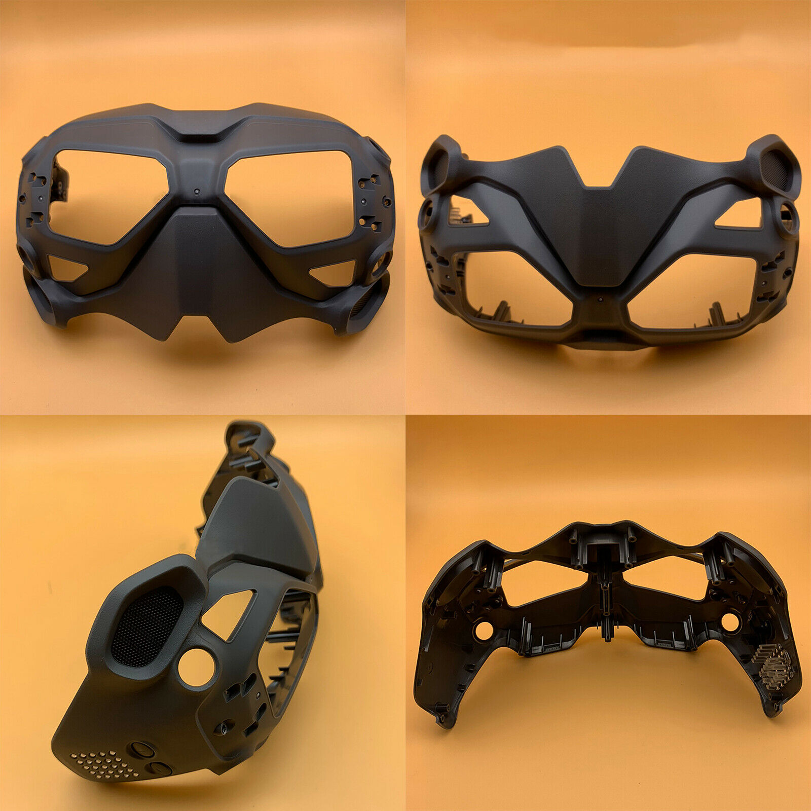 Rear Cover Case Back Shell Replacement Part for DJI FPV Drone Flying Goggles V2