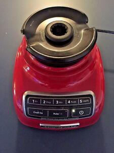 Details about Red KitchenAid 5-Speed Blender KSB-1575CERO BASE ONLY  Blinking lights