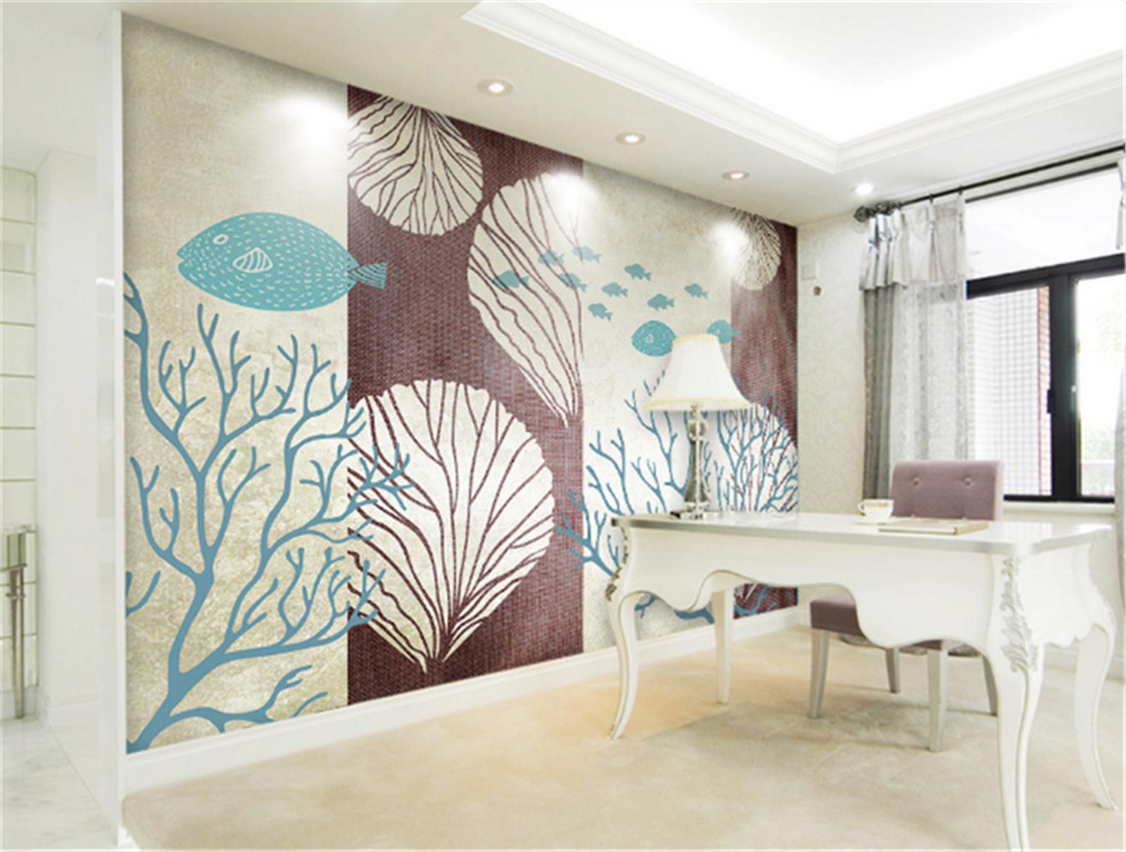 3D Bemalte Holzkunst 7987 Tapete Wandgemälde Tapeten Bild Familie DE Summer