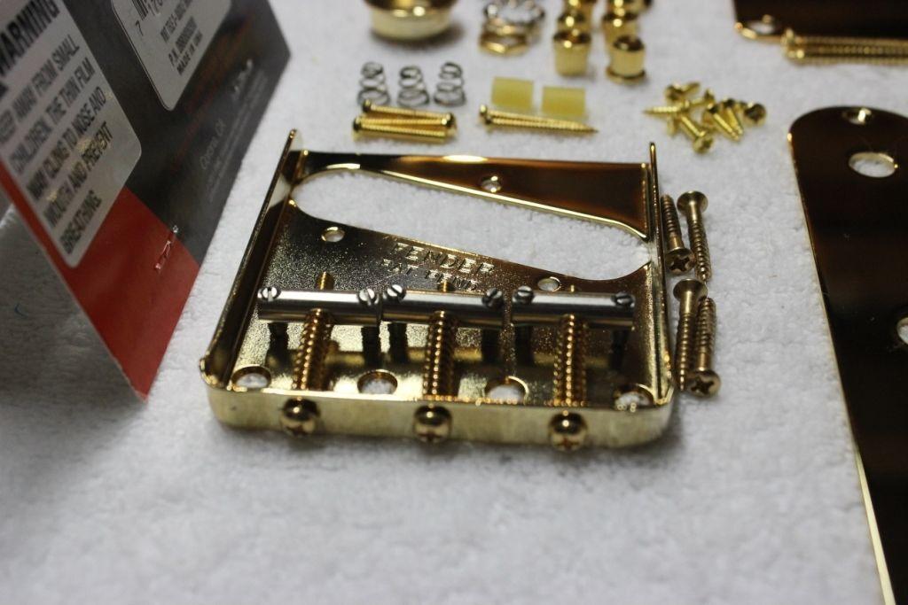 Fender Telecaster Americana conjunto de hardware de de de cuerpo de oro Vintage 3 Silla-Usa Tele c06268
