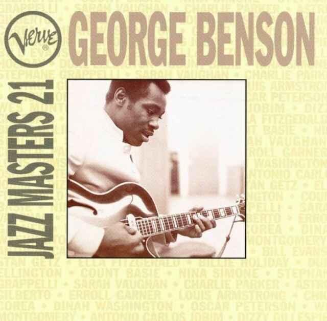 GEORGE BENSON verve jazz masters 21 (CD, compilation) jazz-funk, very good, 1994