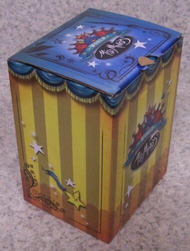 Figurine Miss Mindy Mister Fox on a Mushroom NEW with gift box