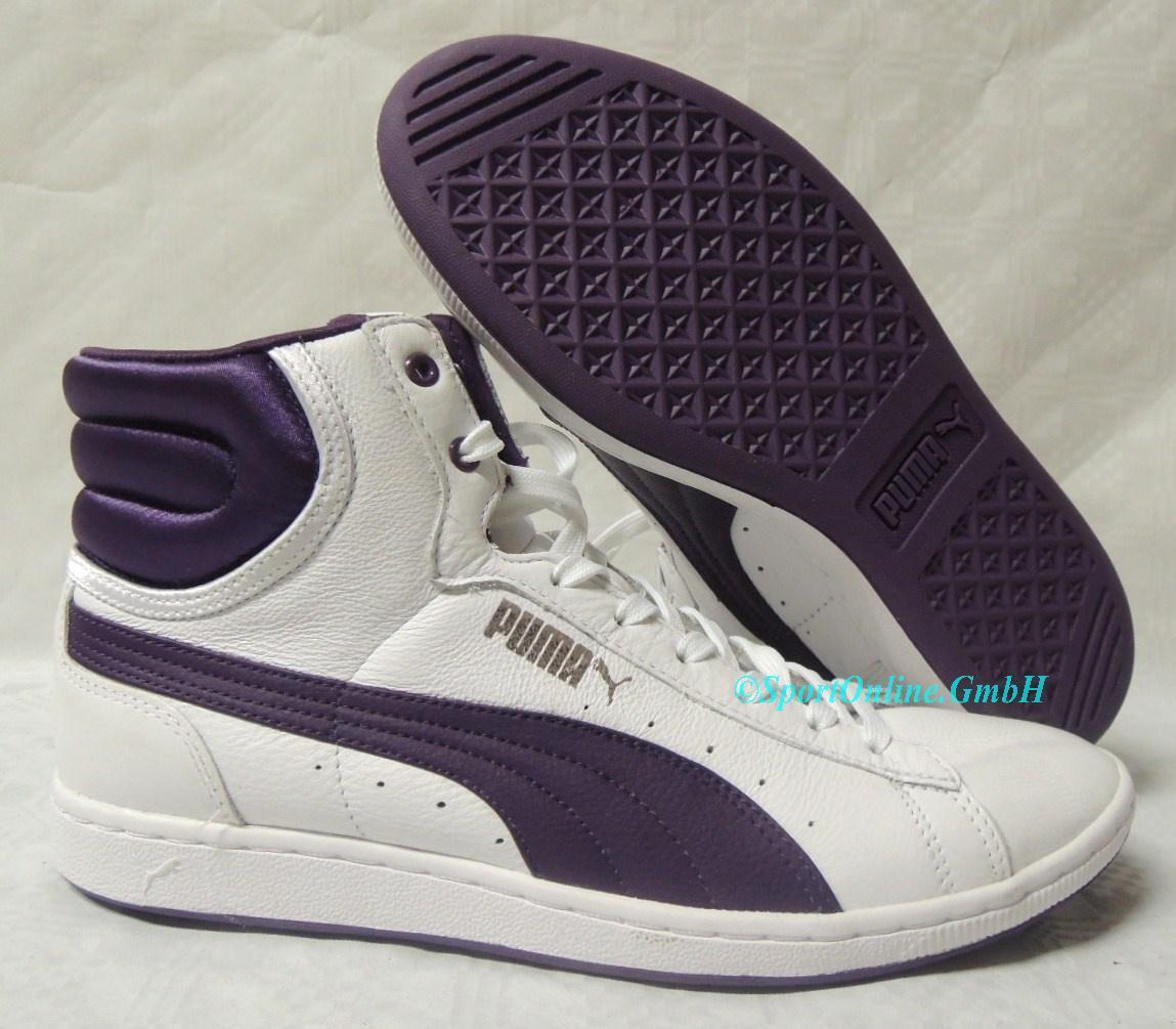 NEU Puma First Round Super Leder Damen Gr. 37 Schuhe Boots Sneaker 352125-03 TOP