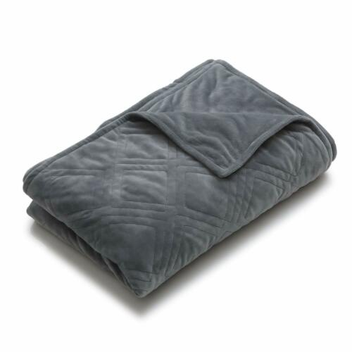 Ynm Cotton Duvet Cover For Weighted Blankets 60/'/'X80/'/' Dark Grey Print