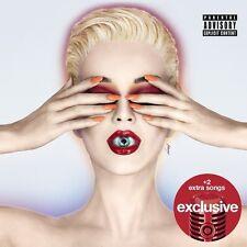 Katy Perry Witness CD 2017 Target Exclusive + 2 Bonus Tracks 6/9 FREE SHIPPING