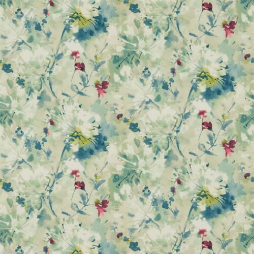 1 ROLL OF SANDERSON AEGEAN VINYL SIMI WALLPAPER 213023 COLOUR OPAL