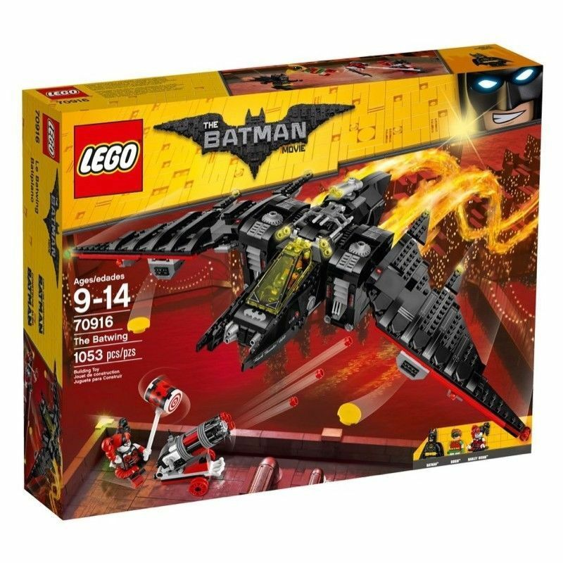 LEGO BATMAN THE MOVIE 70916 THE BATWING  with 3 minifigures Harley Quinn Robin