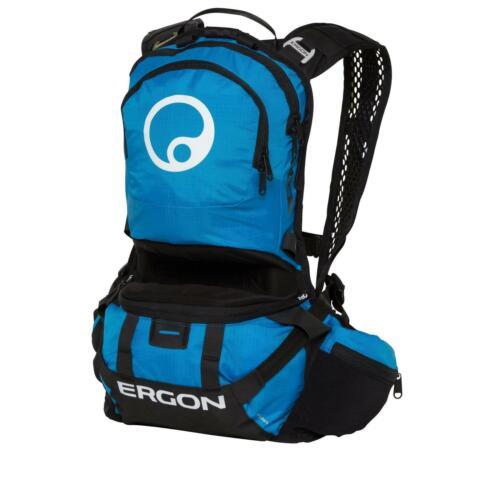 Ergon BE2 Enduro ergonomisch Downhill Trink Rucksack Blau MTB FR DH Gravity S+L