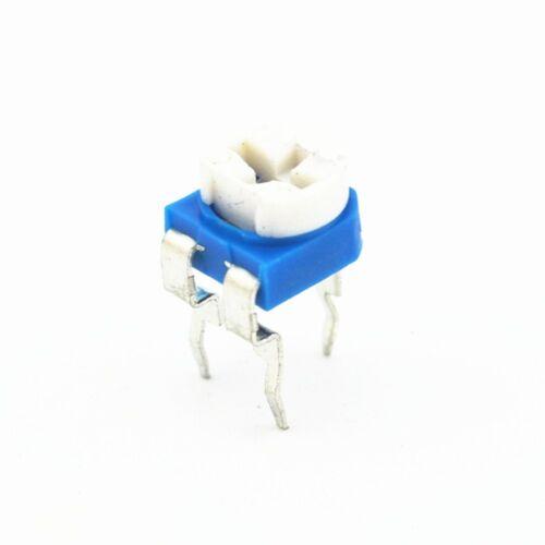 30pcs  500K Ohm Trimmer Trim Pot Variable Resistor Potentiometer 6mm RM065 504