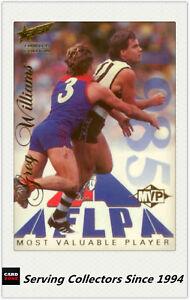 1995-Select-AFL-Sensation-Most-Valueable-Player-Card-No-4-Greg-Williams-1985