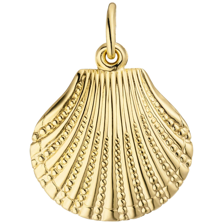 Colgante Adorno para el Cuello Mejillón con Estructura Aus 333 gold yellow gold,