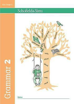 1 of 1 - Grammar and Punctuation Book 2: Year 2, Ages 6-7, Very Good Condition Book, Scho