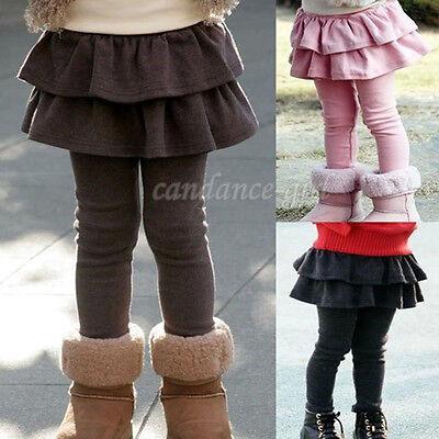 Fashion Cotton Girls Skirt Pants Cake Skirt Kid Legging Girl Baby Pants Leggings