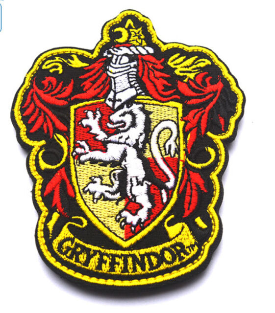 Harry Potter House Of Gryffindor Crest Logo Embroidered PATCH A 445