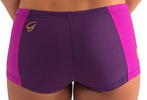 Womens About Boyleg Rip Size Shorts Bottoms New G Wetsuit Curl Bomb Purple Details Neoprene 10 8ywvmnN0O
