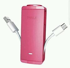 iWalk Branded 2600mah External Power Bank Backup Battery Charger Micro USB Pink