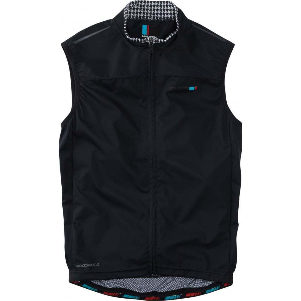 Madison RoadRace Mens Windtech Windproof Cycling Cycle Road Bike Gilet - SALE