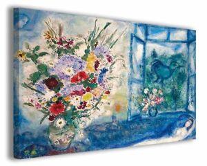 Quadri famosi moderni Marc Chagall vol VI stampa su tela canvas ...