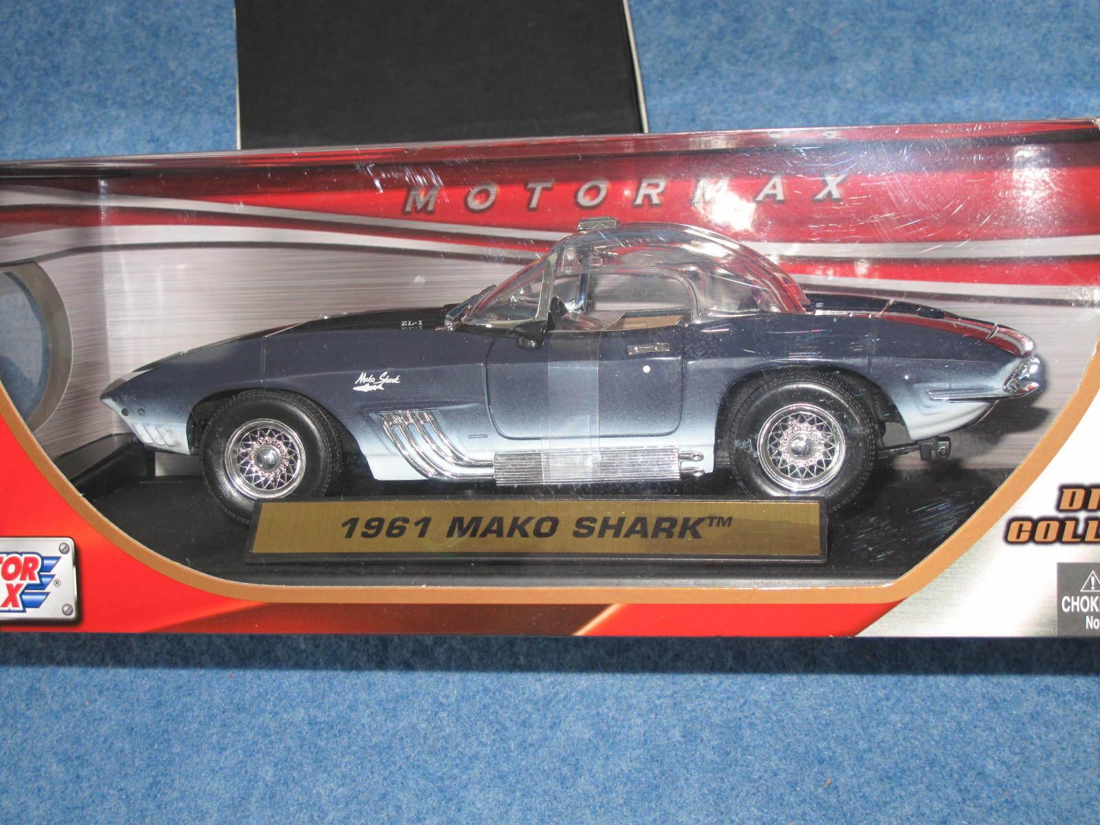 2012  max 1961 chevy corvette - hai 1,18 druckguss traum cruise b8970