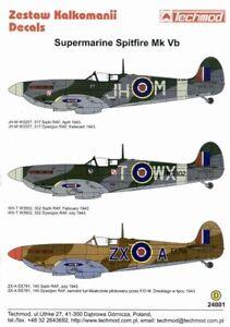 Techmod-decals-1-24-Supermarine-Spitfire-Mk-Vb-24001