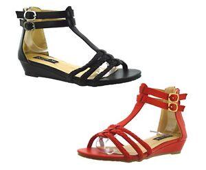 1fd367fdf53bc4 Caricamento dell immagine in corso scarpe-donna-estive-sandali-aperti-mare- infradito-rosse-
