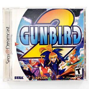 Gunbird-2-Sega-Dreamcast-2000-Complete-Tested-amp-Works