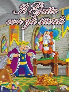 Il Gatto Con Gli Stivali Dvd Cartoni Animati Per Bambini Ebay