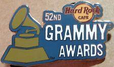 Hard Rock Cafe ONLINE 2010 52nd GRAMMY AWARDS PIN LE 300 - HRC Catalog #52425