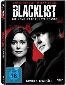 6 DVDs * THE BLACKLIST - SEASON / STAFFEL 5 # NEU OVP <