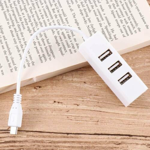 4 Ports Micro USB Extension Cable Adapter OTG Hub USB To OTG Charging Converter