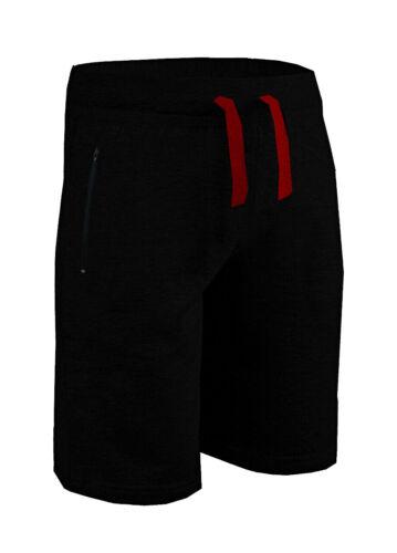 Mens Jersey soft Sleep Night Wear Pyjamas PJ Bottoms Lounge Contrast Shorts M XL