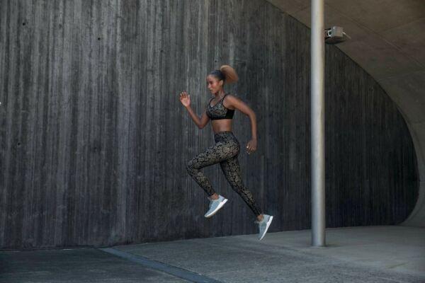 Anita Active Sport Leggings Python Schlangenmuster Tights Massage Effekt Hose