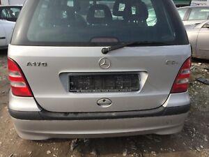 Mercedes-A-Klasse-W168-Stossstange-hinten-polarsilber-761-2002-Baujahr