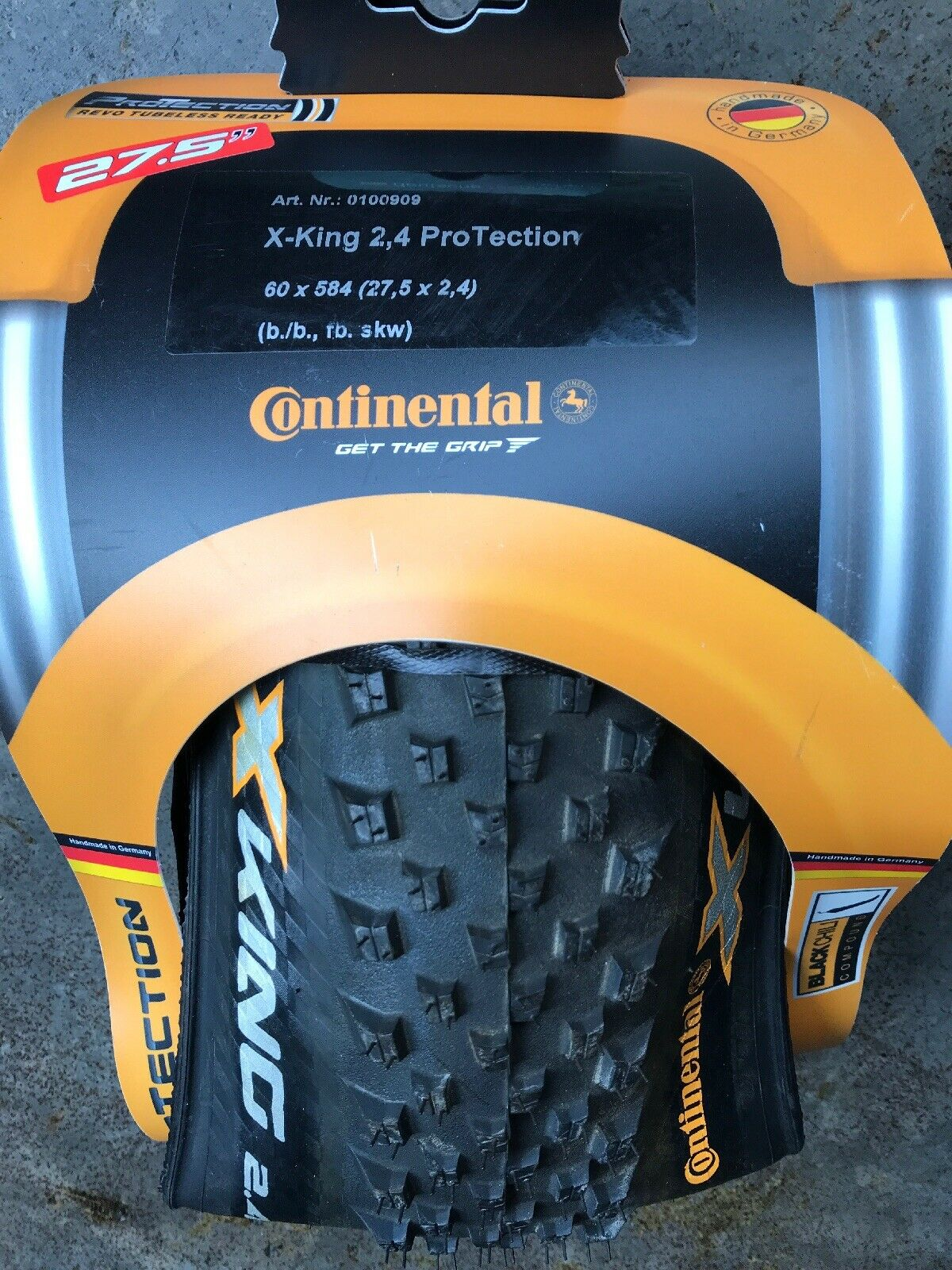 Continental X-King ProTection Tire  27.5 x 2.40  Tubeless Mtb  shop online