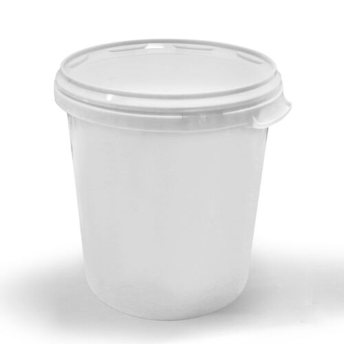 20 x 30 litres seau vide leereimer blanc Hobbock plastique seau avec couvercle blanc