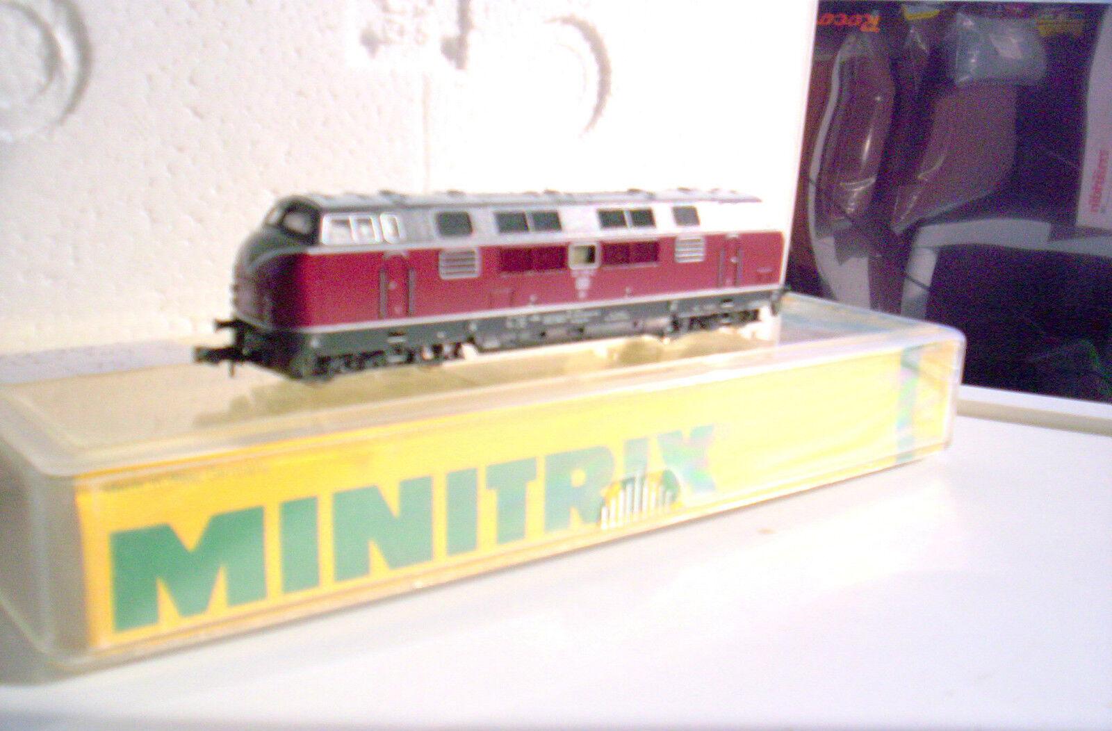 Minitrix 2061 diesellok V 221 109-2 DB